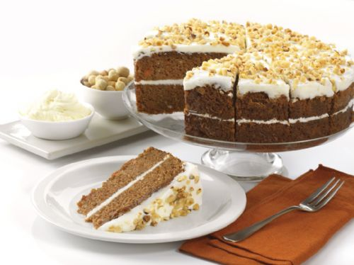 Carrot Cake Gluten Free 14 portions